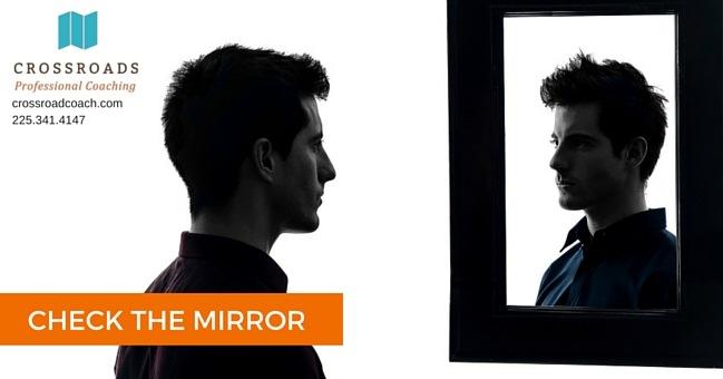 Check the mirror